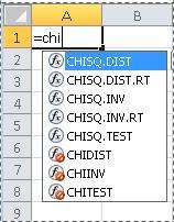 الدالات في Excel 2010
