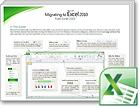 Vejledning i at skifte til Excel 2010