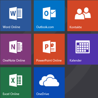 Office.com-Startbildschirm