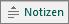 """Schaltfläche """"Notizen"""" in PowerPoint"""