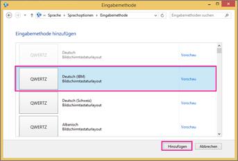 Office 2016 unter Windows 8 – Neue Eingabemethode