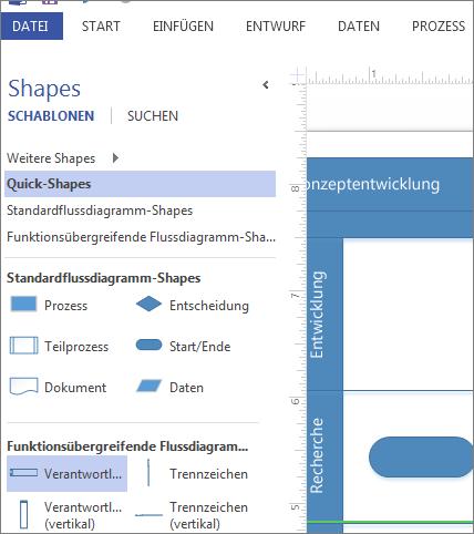Shapes-Fenster