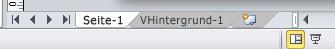 Seitenregister mit dem Zeichenblatt 'VHintergrund-1'