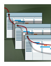 Grafik zur Übersicht zur Zusammenarbeit
