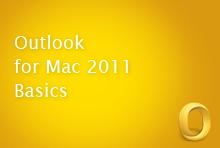 Outlook for Mac 2011 Basics