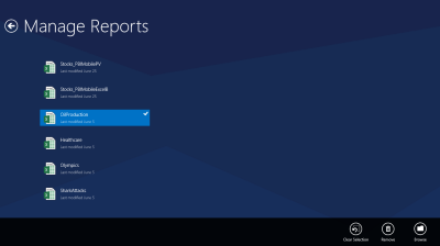 Manage favorite reports in the Power BI mobile app