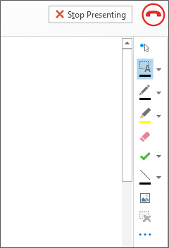 Screenshot of whiteboard in a meeting