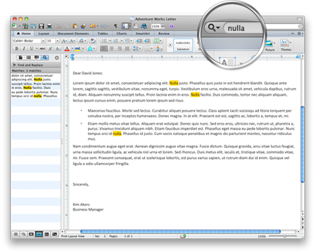 Screenshot showing the Office search bar in the standard toolbar