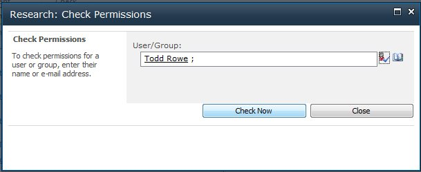 Enter a user or group