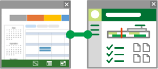 Project Pro for Office 365 connected to project site
