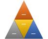 Segmented Pyramid SmartArt graphic layout