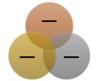 Basic Venn SmartArt graphic layout