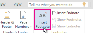 how to add endnote template