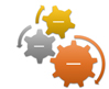 Gear SmartArt graphic layout
