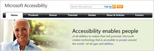 Microsoft Accessbility Website