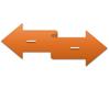 Arrow Ribbon SmartArt graphic layout