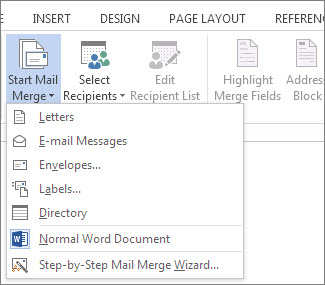 article data sources mail merge fabdef
