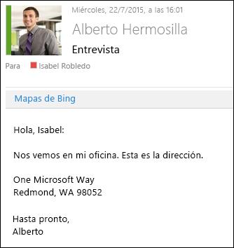 Complemento de Mapas de Bing