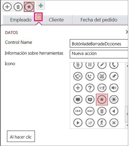 Agregar controles personalizados en una aplicación de Access