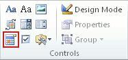 Control de contenido de selector de fecha