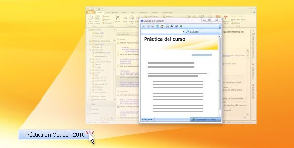 Práctica de Outlook 2010