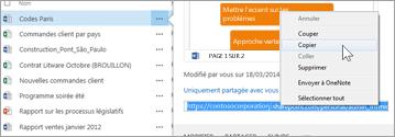 URL web d'un document