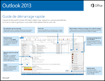 Guide de démarrage rapide d'Outlook 2013
