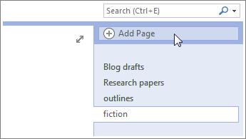 Ajoutez d'autres pages à vos bloc-notes.