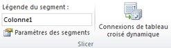 Image du ruban Excel