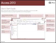 Access 2013 त्वरित प्रारंभ मार्गदर्शिका
