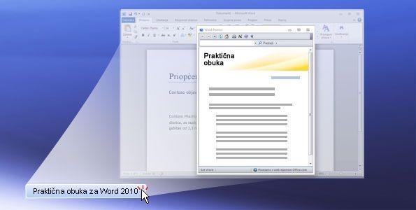 Praktična obuka za Word 2010