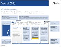 Guida introduttiva di Word 2013