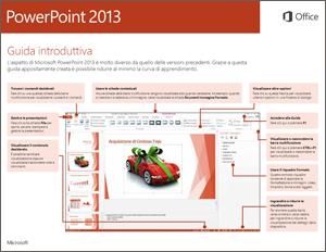 Guida introduttiva di PowerPoint 2013