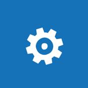 SharePoint Online 환경의 전역 설정 구성 개념을 나타내는 기어 바둑판식 이미지