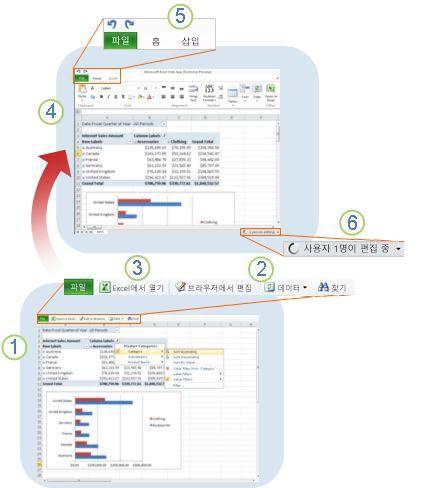 Excel Online 살펴보기