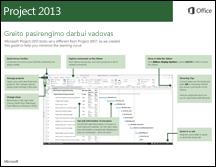 """""""Project 2013"""" greito pasirengimo darbui vadovas"""