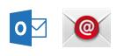 """""""Outlook"""" programėlė ir įtaisytoji pašto programėlė, skirta """"Android"""""""