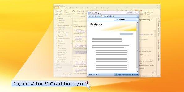 """Outlook 2010"" pratybos"