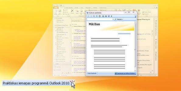 Praktiskas iemaņas programmā Outlook