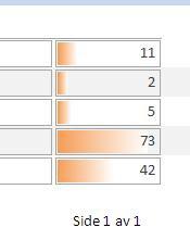 Betinget formatering i en Access-rapport