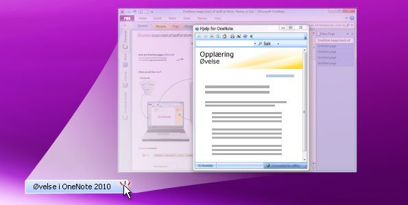 OneNote 2010-øvelse