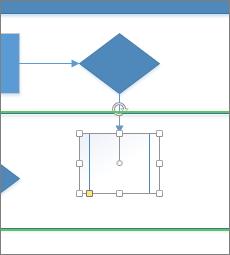 Slepen naar pijl voor Automatisch verbinden
