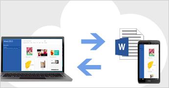 Salvar e compartilhar arquivos na nuvem