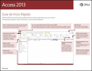 Guia de Início Rápido do Access 2013