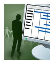 Imagem de introdução ao Microsoft Project.