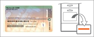 Certificado de Autenticidade e cartão