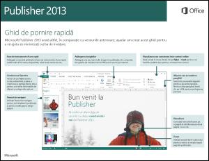 Ghid de pornire rapidă Publisher 2013