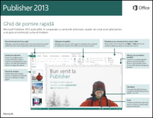 Ghidul de pornire rapidă Publisher 2013