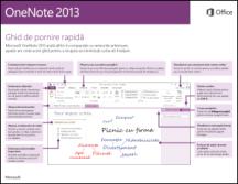 Ghidul de pornire rapidă OneNote 2013