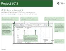Ghidul de pornire rapidă Project 2013